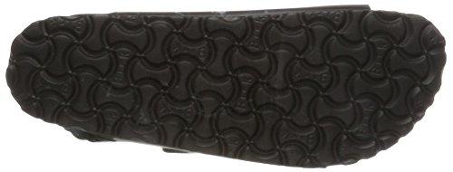 Birkenstock Milano Smooth Leather, Sandali Sportivi Uomo, Nero (Schwarz), 41 EU