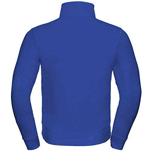 Russell Mens Authentic Full Zip Sweatshirt Jacket (M) (Convoy Grey)