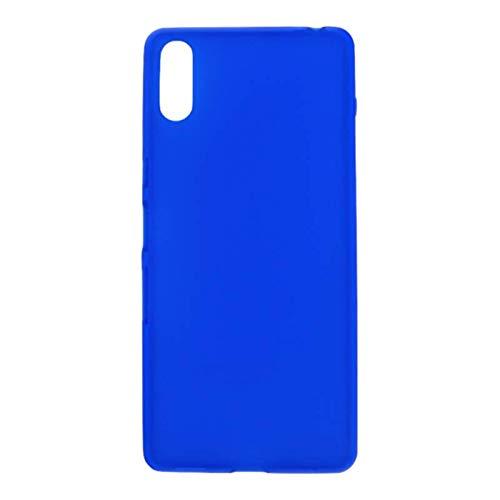 Mb Accesorios Funda Carcasa Gel Azul para Sony Xperia L3, Ultra Fina...