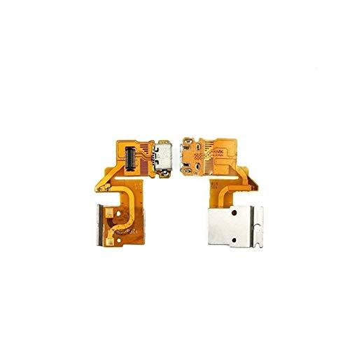 HDHUIXS Compatibilidad Junta USB Nuevo For Sony Xperia Tablet Z SGP341 SGP311 SGP312 SGP321 Puerto de Carga del Cargador del Enchufe de Conector Dock Flex Cable Profesional