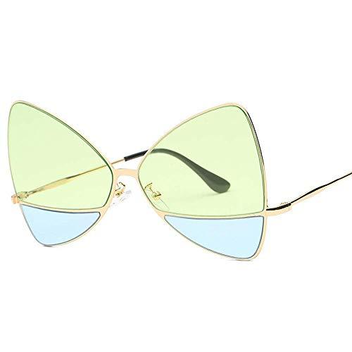 QYYtyj Gafas de sol femeninas europeas y americanas tendencia grande caja de...