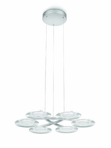 Philips Hobbes Suspension LED Hobbes luminaire d'intérieur Métallique Métal