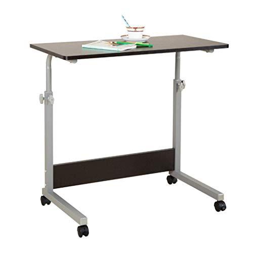 laptop, computerbureau, salontafel, salontafel, bijzettafel, presentatiewagen, laptopbureau, autotafel, salontafel, tafel eenvoudig te monteren met wieltjes.