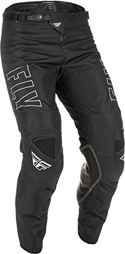 Fly Racing 2022 Kinetic Fuel Pants (Black/White, 34)