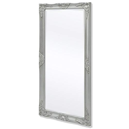 GoodWork4UEu wandspiegel in barokstijl 120x60 cm zilver huis & tuin decoratie spiegel