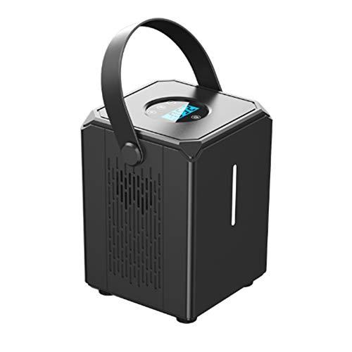 Inflador de neumáticos, 12V 120PSI Compresor de aire portátil Medidor y bomba de presión de neumáticos de coche eléctrico digital con pantalla LCD Luz LED, para bola de bicicleta de coche, etc.