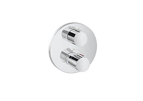 Roca T 1000 - grifo termostático empotrable para baño y ducha con desviador-regulador de caudal. a completar . Griferias hidrosanitarias termostaticas. Ref A5A0C09C00