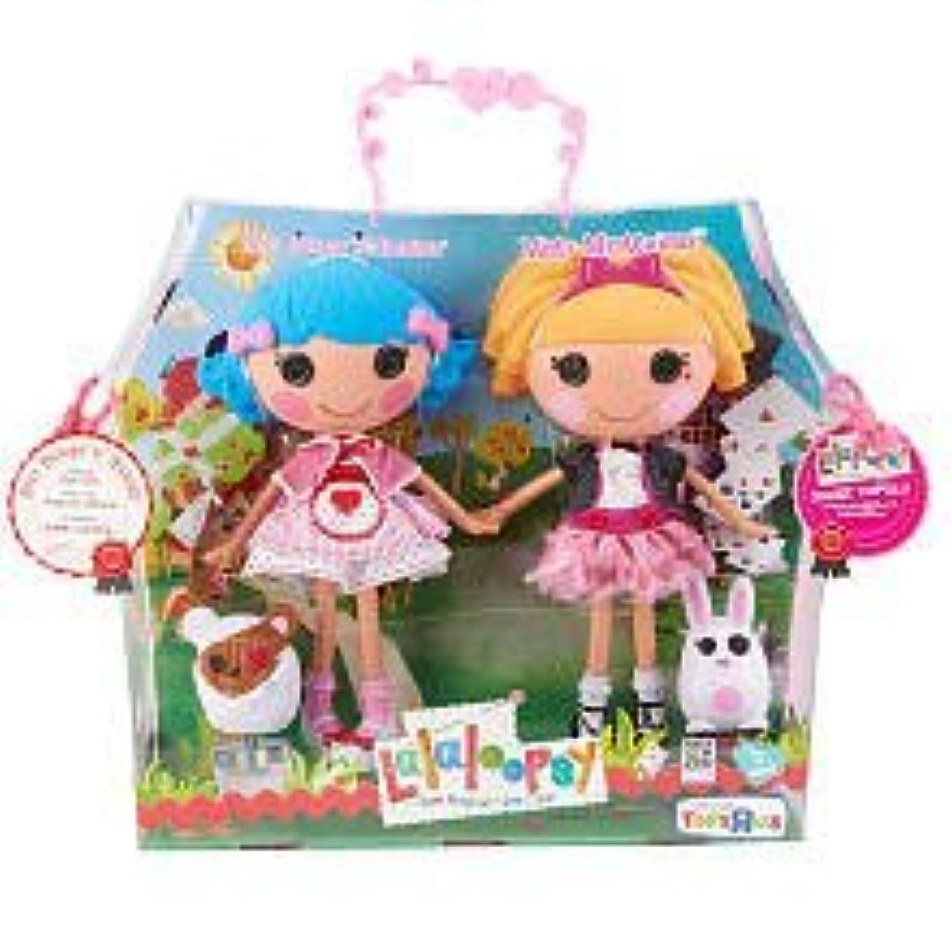 戦うベリ便利Lalaloopsy Large Doll 2 - Pack - Misty Mysterious and Rosy Bumps 'N Bruises ドール 人形 フィギュア(並行輸入)
