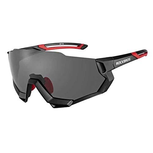 Oculos Ciclismo Rockbros RB-SP176 Troca Lentes C/Clip Preto