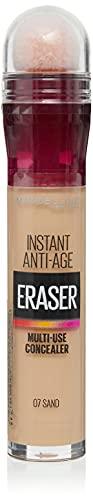 Maybelline Instant Anti Age Eraser correttore occhi occhiaia, occhiaie e imperfezioni correttore, formula ultra miscelabile, sabbia 07
