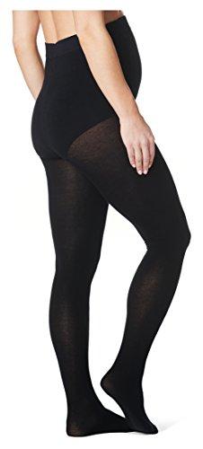 Noppies Damen Umstands Strumpfhose, Maternity tights Cotton 30, GR. Small (Herstellergröße:Small/Medium), Blau