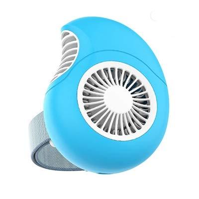 FANGCHENG Mini Ventilador USB Mini Ventilador de Mano, Ventilador de Reloj de Ventilador portátil Recargable USB, Ventilador de Aire de Escritorio for Oficina de Viajes al Aire Libre Ventilador