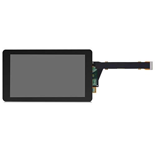 ELEGOO 5,5'' 2K LCD für Mars Pro 3D Drucker, Auflösung von 2560x1440 und gehärtetes Glas Displayschutzfolie, SHARP LS055R1SX04 Lichthärtung Display mit MIPI Anschluss, Kompatibel mit Anycubic Photon
