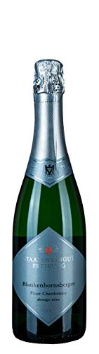 Blankenhornsberger Doktorgarten Pinot Chardonnay Sekt dosage zéro 12,5% vol. 0,75L.