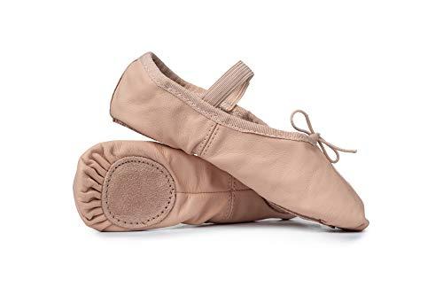 Adult Leather Split-Sole Ballet Shoes T2700PNK08.0M Pink 8 M US