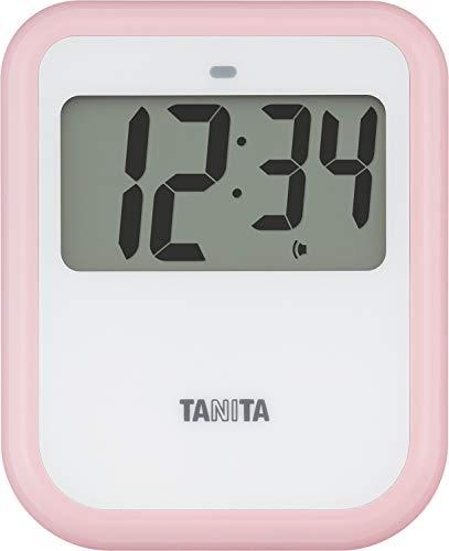 タニタ キッチンタイマー 非接触タイマー ピンク TD421PK