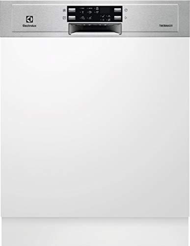 Electrolux sie9516lox - Lavavajillas (60 cm, 14 C, 42 dB, A, ++++++ integrable, con banda de acero inoxidable serie 700)