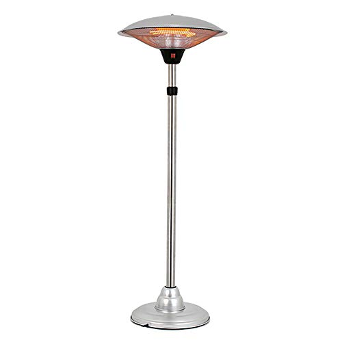 ZDYLM-Y 3000W Electric Patio Heater, 3 Heat Settings Infrared Radiant Heater, IP44 Waterproof Adjustable Height, for Indoor/Outdoor Use