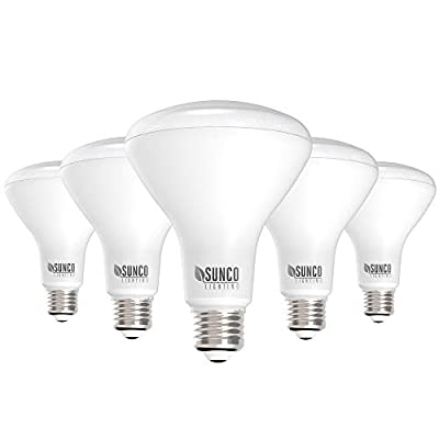 Sunco Lighting 5 Pack BR30 LED Bulb 11W=65W, 5000K Daylight, 850 LM, E26 Base, Dimmable, Indoor Flood Light for Cans - UL & Energy Star