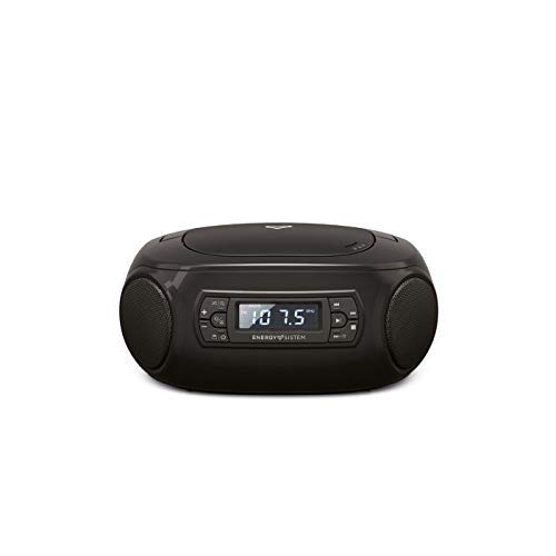 Energy Sistem Boombox 3 Altavoz portátil con Bluetooth (Bluetooth, CD Player, USB MP3 Player, FM Radio)(Bluetooth, CD Player, USB MP3 Player, FM Radio)
