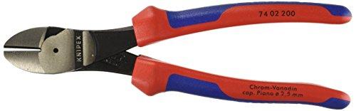 Knipex 74 02 200 SB Kraft-Seitenschneider Länge: 255 mm
