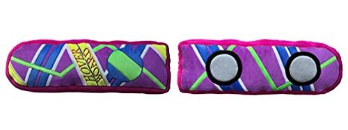 Coussin Retour vers Le Futur Hoverboard – Coussin Confortable et agréable à serrer – Motif : Hoverboard – Cadeau pour Fan et Passionné – Qualité Supérieure – Dimensions 60 cm x 40 cm