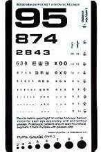 SNELLEN Pocket Eye Chart - Eye Test