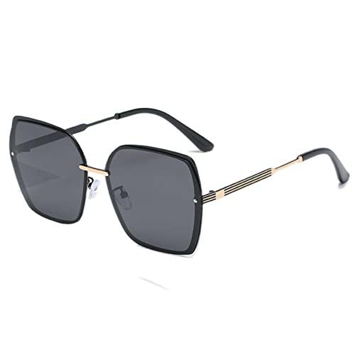 NC Polarized Paint Sunglasses, Fashionable Metal, Trendy Sunglasses For Women, Square Big Frame, 100% UV Protection