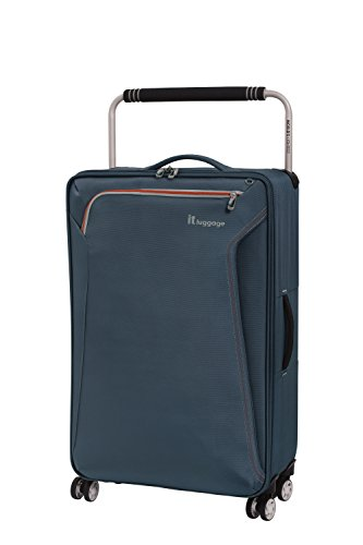 it luggage World's Lightest Accent 8 Wheel Super Lightweight Suitcase, Active Pro Grey, 72 cm