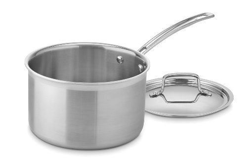 Cuisinart MultiClad Pro Stainless Steel 4-Quart Saucepan with Cover