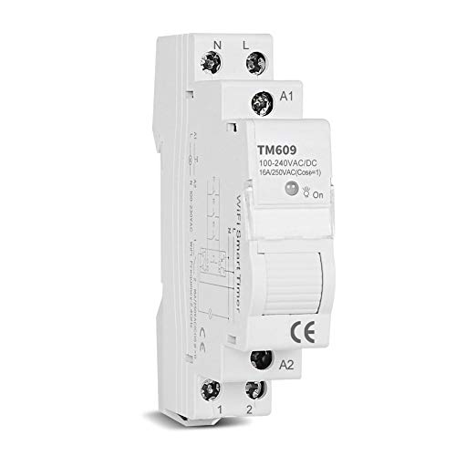 Intelligente Spina Interruttore Timer Intelligente Wifi Memoria Applicazione Di Controllo Remoto Presa Wifi Con Funzione Di Telecomando Timer 16a Guida Din Una Volta Alla Settimana Per La Casa
