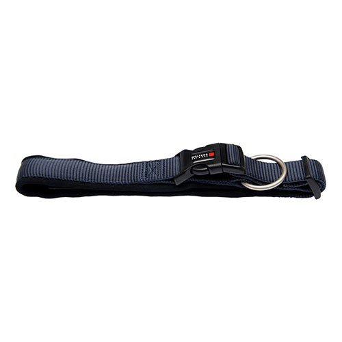 Wolters   Halsband Professional Comfort graphit/schwarz   Halsumfang 60 - 70 x B 4,5 cm