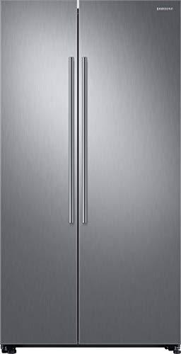 Samsung RS8000 RS6KN8101S9/EG Side-by-Side Kühlschrank/A++/395 kWh/Jahr/178 cm Höhe/411 L Kühlteil/236 L Gefrierteil/Silber/Space Max/Twin Cooling Plus