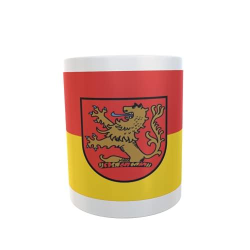 U24 Tasse Kaffeebecher Mug Cup Flagge Langenhagen