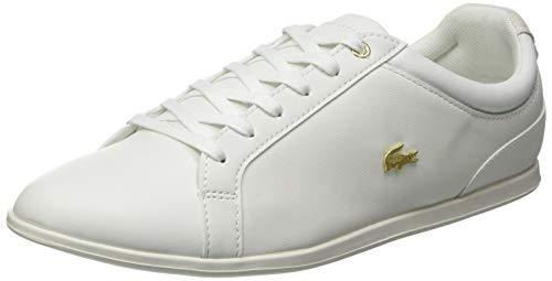 Lacoste Damen Rey LACE 120 1 CFA Sneaker, Off Wht/Off Wht, 37.5 EU