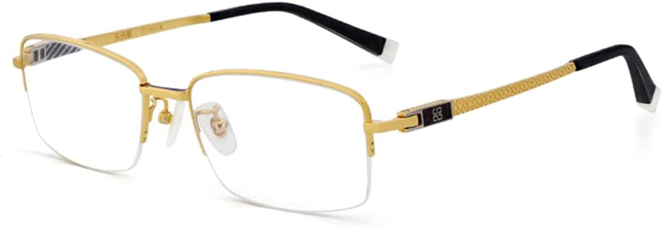 supreme CAOXN Popularity Anti-Blue Light Business Reading Titani Glasses Men's Pure
