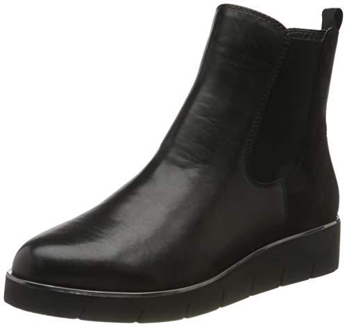 Caprice Damen 9-9-25339-25 Stiefelette, Black Suede CO, 39 EU