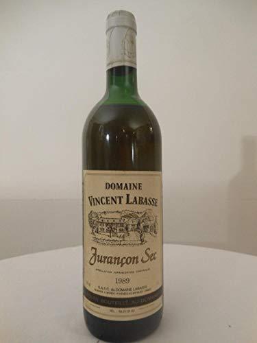 jurançon vincent labasse blanc 1989 - sud-ouest france: une bouteille de vin.