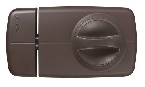 ABUS Tür-Zusatzschloss 7010, mit Drehknauf, braun, 53268