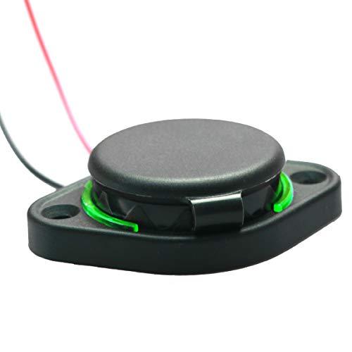 Queen.Y 3. 1A Adattatore per Presa di Corrente per Caricabatterie Doppio USB Presa per Caricabatterie Rapido Impermeabile Presa di Corrente per Montaggio a Pannello di Ricarica per Barca