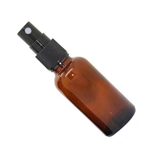 Rekkle 5-100ML Bottiglie vuote di Vetro Olio Essenziale Mist Spray Profumo Caso Contenitore Riutilizzabile Viaggi atomizzatore Contenitore cosmetico