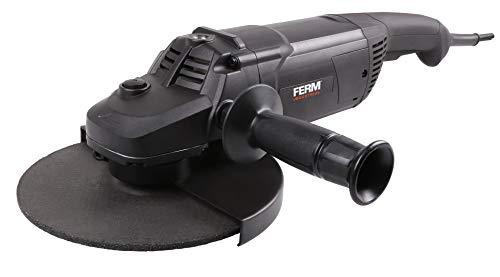 FERM Professioneller Winkelschleifer - 2600 W - 230 mm – 3 m Gummikabel