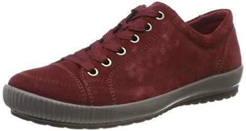 Legero TANARO-Sneaker, Damen Niedrig- Anderes Leder, Rot (Rio Red (Rot) 49), 42 EU (8 UK)