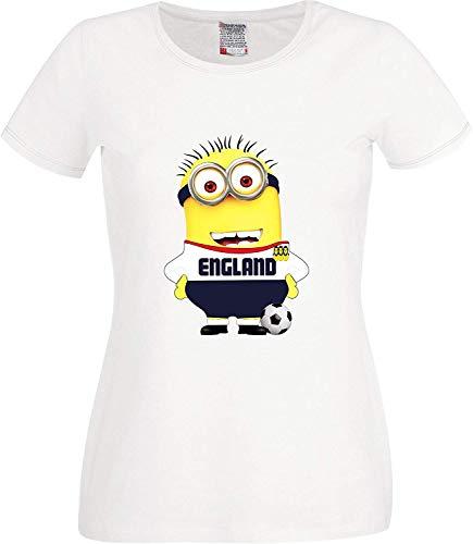 RISKYT wereldcup Engelse voetbalfan ondersteuning Russische dames T-shirt