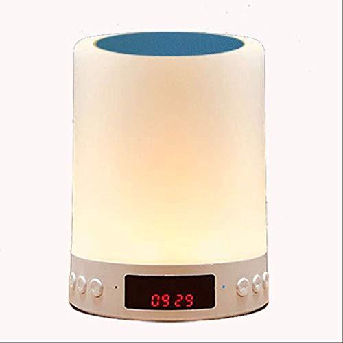 Guo Smart Wireless Bluetooth Audio klein nachtlampje laden muziek romantische bonte tafellamp slaapkamer schijnwerper slaap