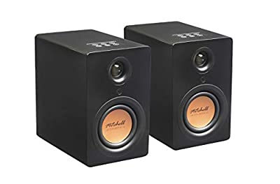 Mitchell Acoustics uStream One Bluetooth Speakers - Bookshelf Or Stand Mount - Stereo True Wireless Speaker System With Remote Control from Mitchell Acoustics