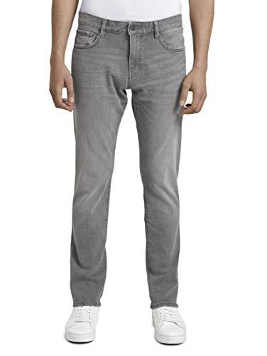 TOM TAILOR Herren Jeanshosen Josh Regular Slim Jeans, 10210-grey Denim, 32W / 34L