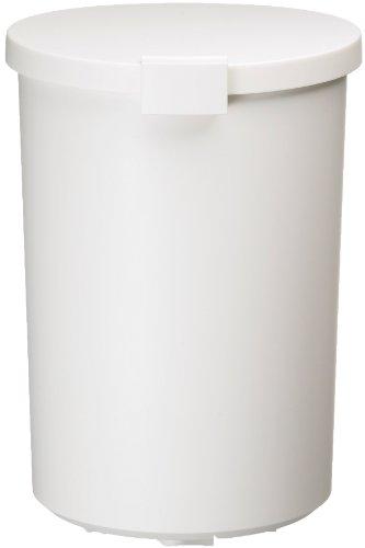 I'mD (アイムディ) ゴミ箱 Kcud クード ラウンドロック ホワイト 12.4L KUDRL W