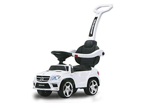 Jamara - 460244 - Push Car Mercedes GL63AMG - Canne Parentale Blanc