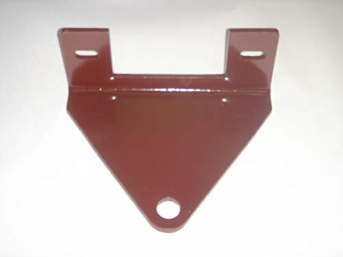 """Quality Targets Grasshopper Mower Trailer Hitch 1/4"""" Thick & 3/4"""" Hole!"""
